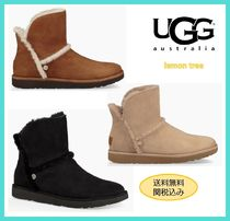UGG Australia LUXE Rubber Sole Casual Style Sheepskin Plain