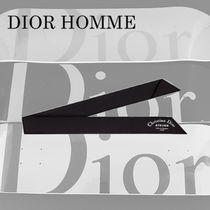 DIOR HOMME Street Style Bi-color Plain Cotton Accessories