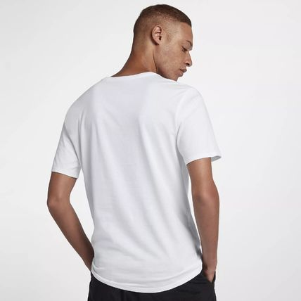 Nike Crew Neck Crew Neck Pullovers Street Style Cotton Short Sleeves 3