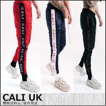 CALI UK Stripes Street Style Plain Skinny Fit Pants