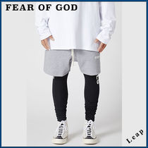 FEAR OF GOD ESSENTIALS Street Style Collaboration Plain Shorts