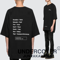 UNDERCOVER Crew Neck Pullovers Unisex Street Style Short Sleeves