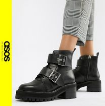ASOS Casual Style Leather Ankle & Booties Boots