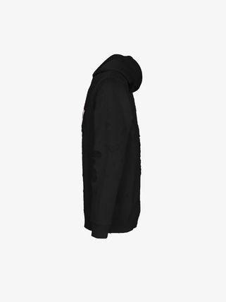 GIVENCHY Hoodies Street Style Long Sleeves Cotton Hoodies 3