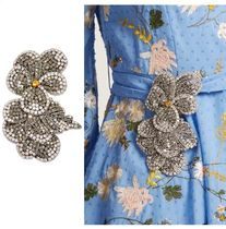 ROCHAS Flower Party Style With Jewels Party Jewelry