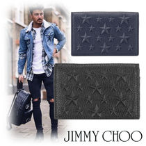 Jimmy Choo Star Street Style Leather Card Holders