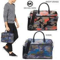 Michael Kors Camouflage Canvas 2WAY Business & Briefcases