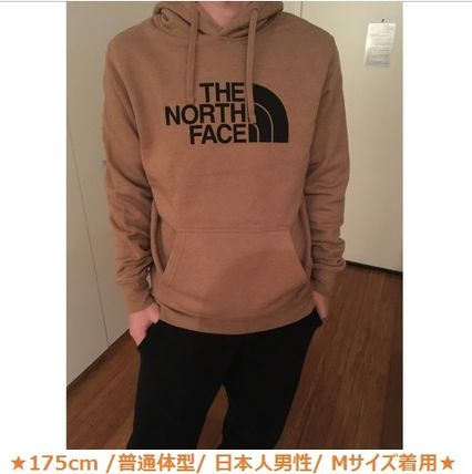 THE NORTH FACE Sweatshirts Pullovers Street Style Long Sleeves Plain Sweatshirts 6