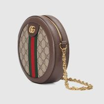 GUCCI Ophidia Ophidia Mini Gg Round Shoulder Bag