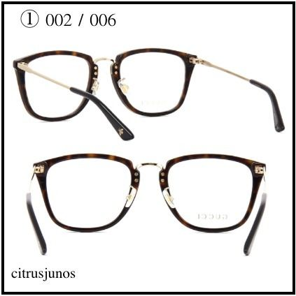 993923ec7c GUCCI Unisex Square Optical Eyewear by Citrusjunos - BUYMA