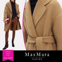 MaxMara Wool Plain Medium Wrap Coats