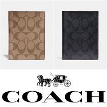 Coach SIGNATURE Passport Cases