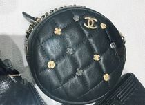 CHANEL Leather Shoulder Bags