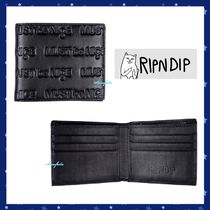 RIPNDIP Camouflage Other Animal Patterns Leather Folding Wallets