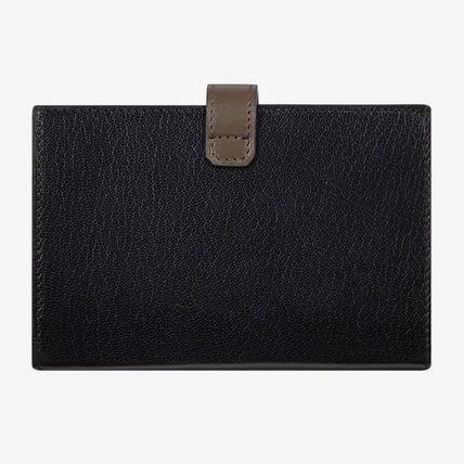 GIVENCHY Folding Wallets Street Style Plain Leather Folding Wallets 4