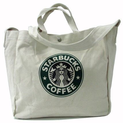 Casual Style Canvas Totes
