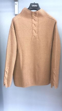 Wool High-Neck Sweaters