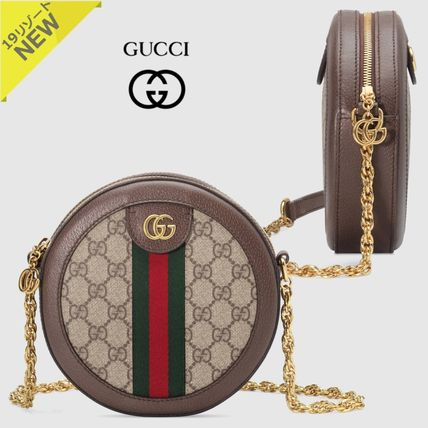 4a26f482281 GUCCI Ophidia 2019 Cruise Monogram Canvas Office Style Shoulder Bags ...