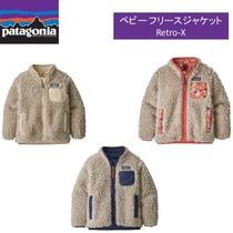Patagonia Retro X Blended Fabrics Street Style Baby Girl Tops