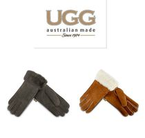 Blended Fabrics Leather Leather & Faux Leather Gloves