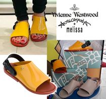 Vivienne Westwood Collaboration PVC Clothing Slippers Sandals