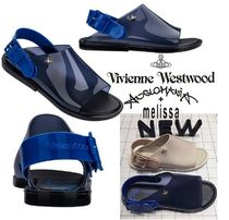 Vivienne Westwood Casual Style Collaboration PVC Clothing Sandals