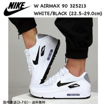 Nike AIR MAX 90 Casual Style Unisex Street Style Plain Leather