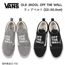 VANS OLD SKOOL Rubber Sole Casual Style Unisex Suede Street Style Plain