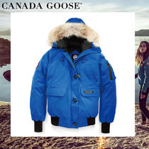 CANADA GOOSE CHILLIWACK Casual Style Plain Medium Bomber Jackets