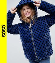 ASOS Dots Casual Style Velvet Jackets