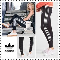 adidas SUPERSTAR Street Style Bi-color Cotton Leggings Pants