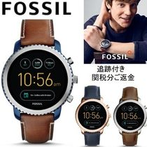 Fossil Unisex Blended Fabrics Smartwatch Watches Watches
