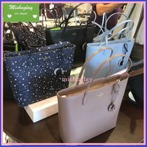 kate spade new york Star A4 Plain Leather Totes