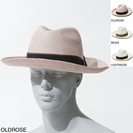 Straw Boaters Wide-brimmed Hats