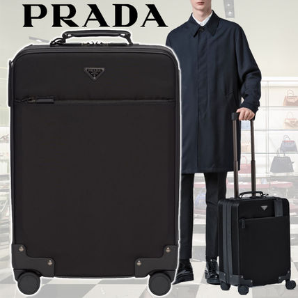 8db793376d96f ... PRADA Luggage   Travel Bags Unisex 1-3 Days Soft Type Carry-on Luggage  ...