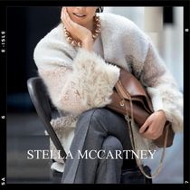Stella McCartney Wool V-Neck Long Sleeves Medium Elegant Style Cardigans