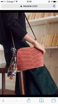SEZANE Casual Style Other Animal Patterns Leather Shoulder Bags