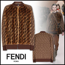 FENDI Monogram Fur Medium Jackets