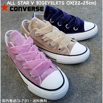 CONVERSE ALL STAR Rubber Sole Casual Style Velvet Blended Fabrics Street Style