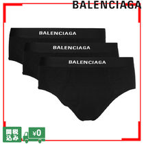 BALENCIAGA Street Style Plain Cotton Briefs