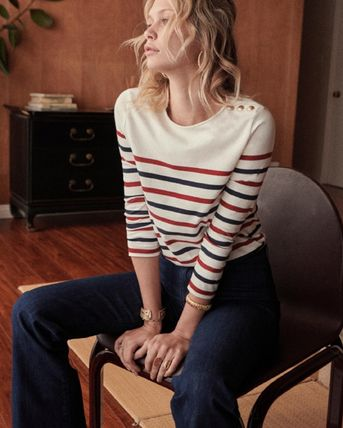 Stripes Long Sleeves Long Sleeve T-shirt T-Shirts