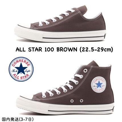 a2d8d83ff727d6 CONVERSE ALL STAR 2018-19AW Unisex Street Style Plain Sneakers by ...
