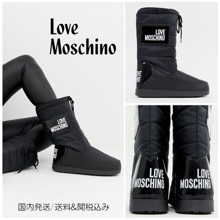 Round Toe Casual Style Street Style Plain Boots Boots