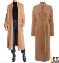 Weekend Max Mara Wool Plain Long Oversized Elegant Style Wrap Coats