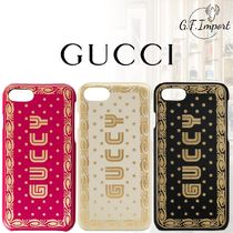 GUCCI Leather Smart Phone Cases
