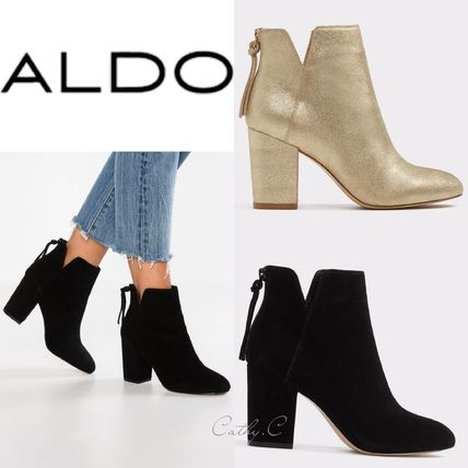 41e0cd67e88 ALDO Women s Gold Ankle   Booties Boots  Shop Online in US
