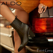 ALDO [ALDO] Leather with Elastic Paneling Ankle Boots - Drerissa