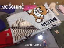 Moschino Casual Style Unisex Wool Other Animal Patterns