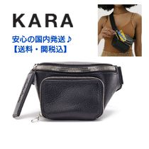 KARA Casual Style 2WAY Plain Leather Crossbody Small Shoulder Bag