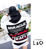 Casual Style Unisex Street Style Medium Oversized
